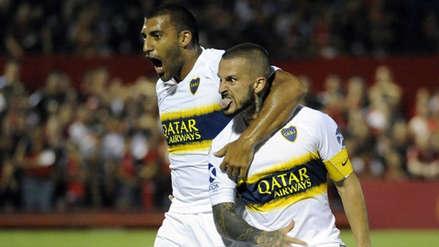 Boca Juniors goleó 4-0 a San Martín de San Juan por la Superliga Argentina