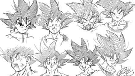 Dragon Ball Super | Animador de la serie muestra varios estilos de dibujo de Gokú a lo largo de los años