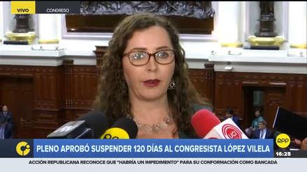 Bartra tras suspensión de López Vilela: No hubo