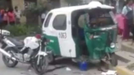 Un policía murió en un accidente cuando perseguía a un conductor ebrio en Cusco