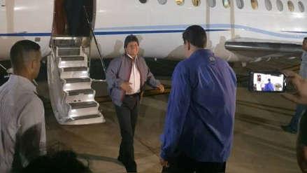 Evo Morales realizó visita relámpago a Nicolás Maduro y le dio su respaldo