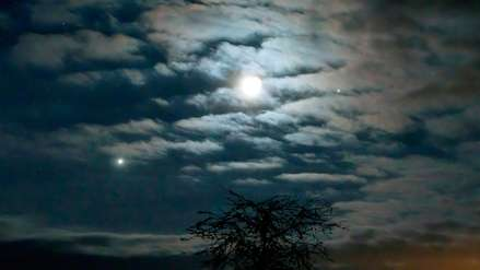 La Luna se alineó con Venus y Júpiter: el evento se pudo ver sin equipo especial
