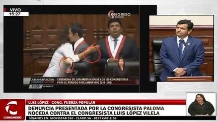 López Vilela presentó video de sus colegas