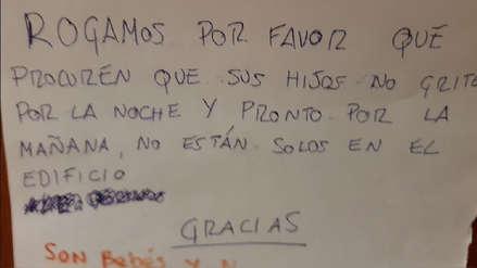 Se quejó del llanto de la hija de su vecino y recibió esta respuesta que se volvió viral