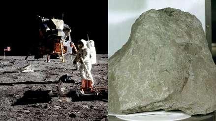 Hallazgo misterioso: astronautas creen haber encontrado un pedazo de la Tierra en la Luna