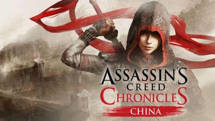 Juegos gratis | Assassin's Creed Chronicles: China es gratuito hasta el 5 de febrero