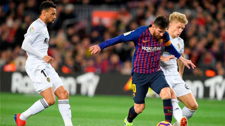Valencia sorprendió a Barcelona y se llevó un empate del Camp Nou