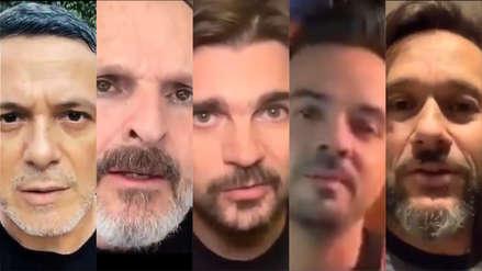 El llamado de Sanz, Juanes, Bosé, Diego Torres y otros artistas a