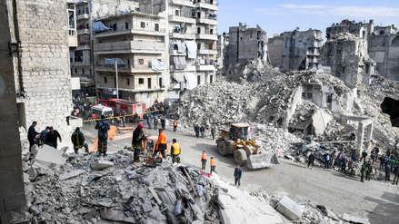 Siria | Edificio dañado por la guerra se desploma y deja 11 muertos