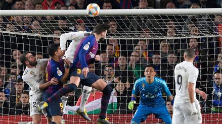 Horarios y canales en el mundo del Barcelona vs. Real Madrid en partido de ida de la semifinal de la Copa del Rey 2019