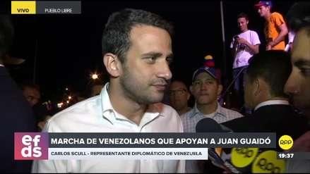 """Representante de Juan Guaidó en Lima: """"Contamos con el Perú para recuperar nuestra democracia"""""""