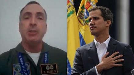 General venezolano reconoce a Juan Guaidó como presidente de su país