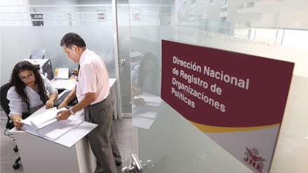 JNE cancela la inscripción de 53 organizaciones políticas locales