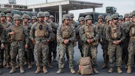 Estados Unidos envía 3,750 soldados adicionales a la frontera con México