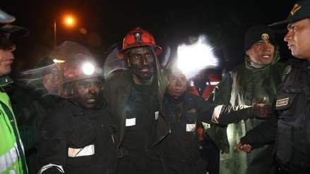 ¡Con vida! Rescataron a los mineros que estuvieron  atrapados cuatro días en una mina de carbón