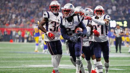 Los New England Patriots derrotaron 13-3 a Los Angeles Rams y se llevaron el título del Super Bowl LIII