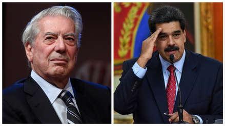 Mario Vargas Llosa pide mayor presión contra Maduro: