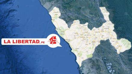 Un sismo de magnitud 4.0 se registró esta mañana en La Libertad