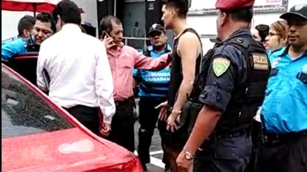 Miraflores: Asalto a sujeto termina con disparos cerca al parque Kennedy