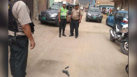 Comas | Policía de civil abatió a joven que intentó asaltarlo