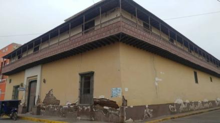 Lambayeque   Casona con el balcón colonial más largo de Sudamérica a punto de desplomarse