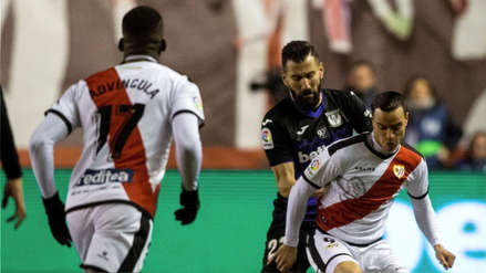 Con Luis Advíncula, Rayo Vallecano perdió 2-1 ante Leganés y volvió a la zona de descenso