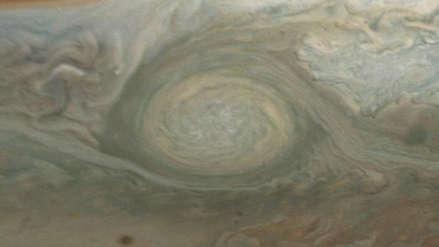 Animación | Así es una tormenta gigante en Júpiter