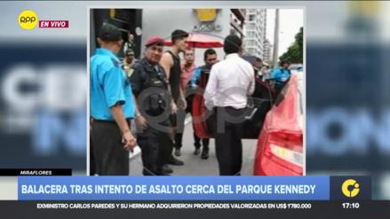 Hombre que disparó contra delincuentes en Miraflores tiene licencia activa para portar armas