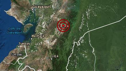 Un fuerte sismo con epicentro en Ecuador se sintió en Tumbes