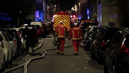 París | Ocho muertos y más de 30 heridos dejó un incendio en un edificio de la década del 70