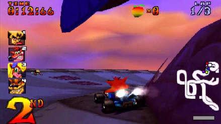 Crash Team Racing: ¿Cuánto han cambiado los gráficos del título de PlayStation One al del PlayStation 4?