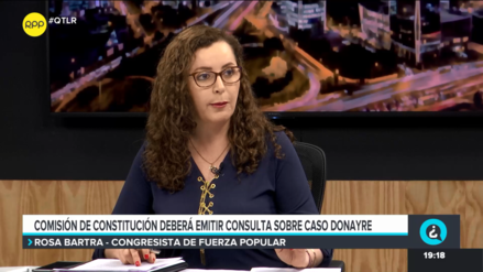 Rosa Bartra aseguró que Constitución tiene lista opinión consultiva sobre caso de Edwin Donayre