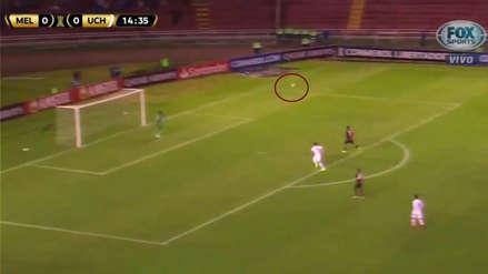El palo que salvó a Melgar de recibir el primer gol de U. de Chile