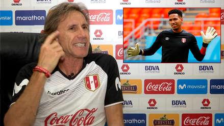 Ricardo Gareca explicó por qué Pedro Gallese está 'obligado' a ser titular en Alianza Lima