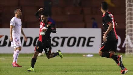 Melgar vs. U de Chile: Alexis Arias marcó un GOLAZO  de media distancia en la Libertadores