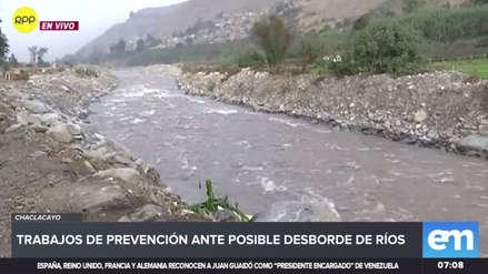 Vecinos de Chaclacayo exigen trabajos de prevención ante la crecida del río Rímac