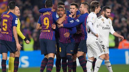 Barcelona  igualó 1-1 con Real Madrid por la semifinal de ida de la Copa del Rey 2019