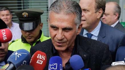 Carlos Queiroz llegó a Bogotá para asumir como DT de Colombia