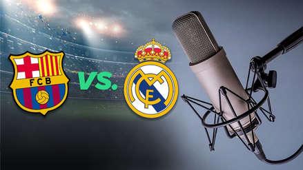 ESCUCHAR RADIO Barcelona vs. Real Madrid EN VIVO: RPP Noticias transmitirá el partido de ida de la semifinal de la Copa Rey 2019