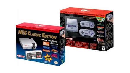 Las ventas combinadas de la NES y SNES Classic están a punto de superar a las de Wii U