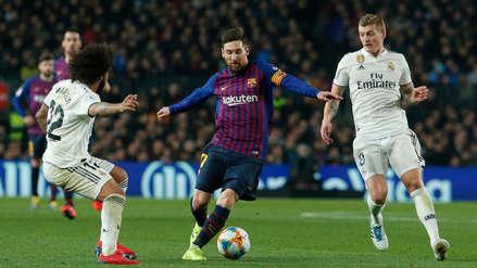 Real Madrid vs. Barcelona: entérate cuándo se jugará el partido de vuelta por la semifinal de la Copa del Rey