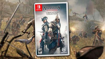 Ubisoft confirma remasterización de Assassin's Creed III + Liberation para todas las plataformas menos Nintendo Switch