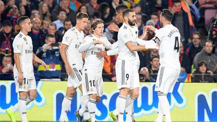 Gol merengue: Lucas Vázquez se anticipó a su marca y marcó en el Barcelona vs. Real Madrid