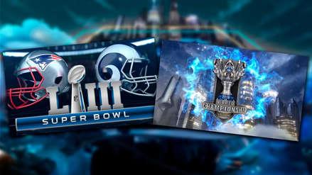 Final de League of Legends duplica en audiencia al Super Bowl