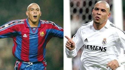 Barcelona vs. Real Madrid: Ronaldo Nazario dio su favorito para el clásico español