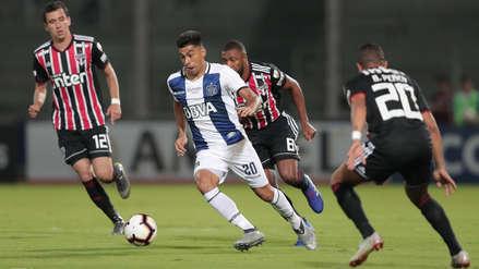 Sin Miguel Araujo, Talleres derrotó a Sao Paulo por la Copa Libertadores