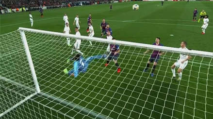 Barcelona vs. Real Madrid: el tiro al palo de Ivan Rakitic en el arco de Keylor Navas