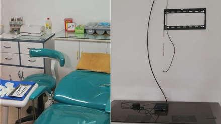 Delincuentes robaron equipos de un centro odontológico de Lince por un valor de S/70 mil