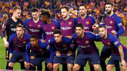Barcelona vs. Real Madrid EN VIVO: el once azulgrana confirmado por la Copa del Rey