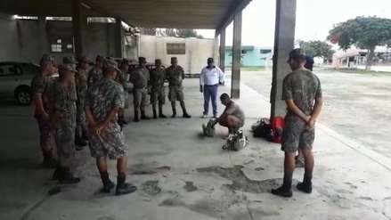 Ejército apoyará en la fumigación de viviendas contra el dengue en La Libertad
